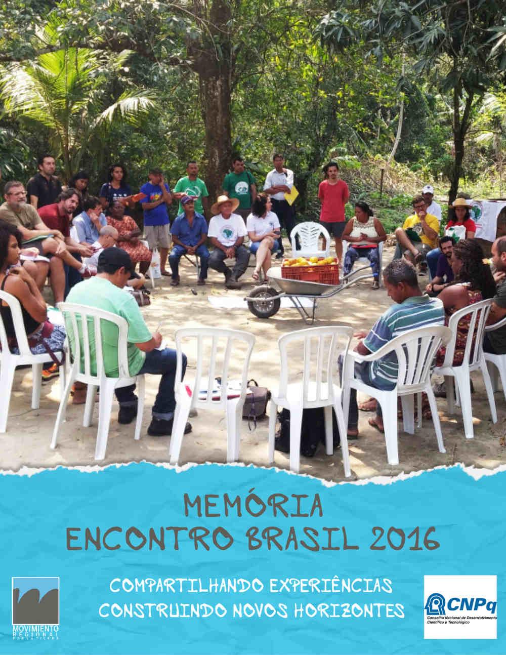 Memória Encontro Brasil 2016