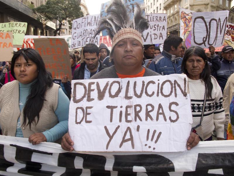 Resultado de imagen para tierras indigenas argentina